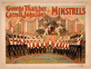 George Thatcher And Carroll Johnson S Minstrels Image