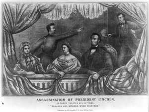 Assassination Of President Lincoln Image