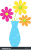 Free Clipart Of Flowers In Vases Image