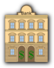 Bank With Dollar Sign Clip Art