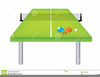 Ping Pong Table Clipart Image