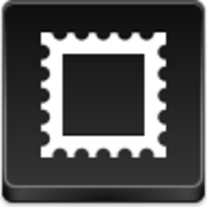 Postage Stamp Icon Image