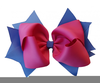 Free Clipart Pink Bow Image