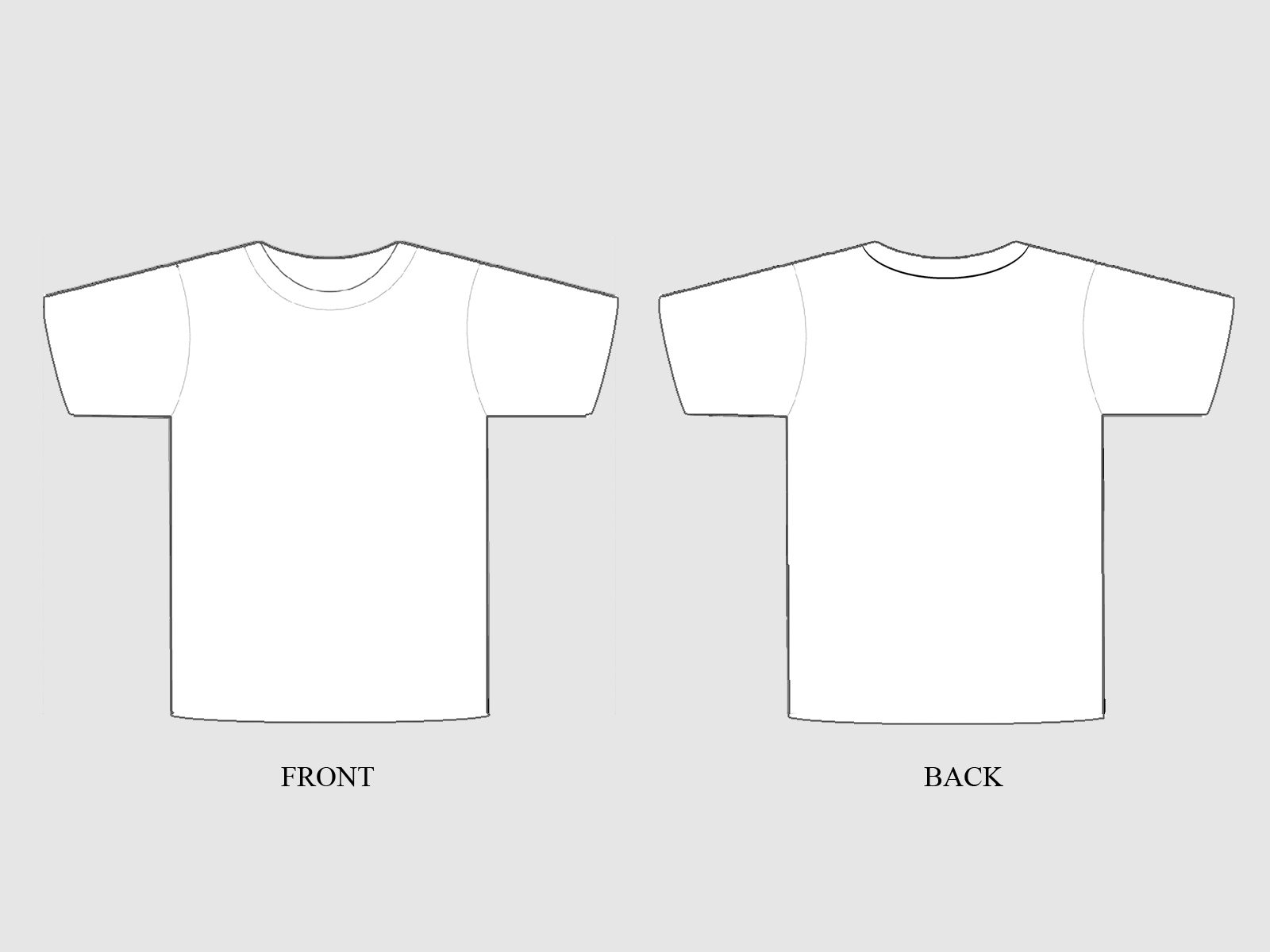 Plain T Shirt Image