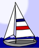 Free Sailing Scrapbook Clipart Image