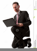 Free Clipart Person Using Computer Image