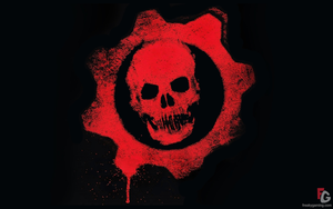 Skull Logo Gears Of War Image
