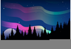 Free Clipart Northern Lights Image