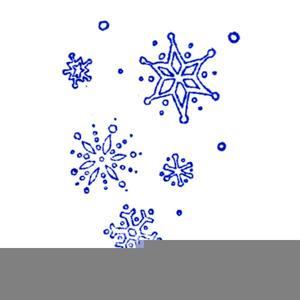 Snow Falling Clip Art