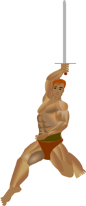 Muscular Person Clip Art