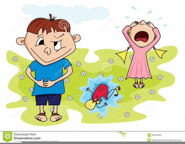 naughty child clipart free images at clkercom vector