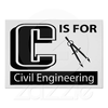 C Is For Civil Engineering Poster R Adaba D A Efcd F Fe F Jwc Image
