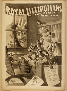Royal Lilliputians A Big Comedy By Little People. Image