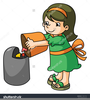 Clipart Of Taking Out The Trash Image