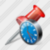 Icon Office Button Clock Image