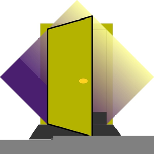 Free Animated Clipart Of Doors Opening And Closing Image