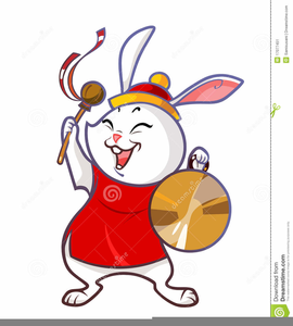 Year Of The Rabbit Clipart Free Image