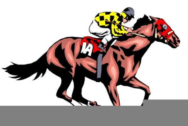 horse races clipart free images at clker com vector clip art rh clker com horse racing clipart in ai free horse barrel racing clipart