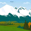 Mountain Cartoon Image