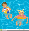 Kids Swimming Pool Clipart Image
