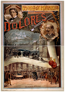 Bolossy Kiralfy S Grand Parisian Production, Dolores By Victorien Sardou. Image