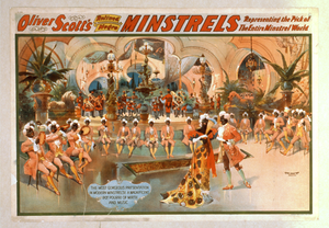 Oliver Scott S Refined Negro Minstrels Representing The Pick Of The Entire Minstrel World. Image