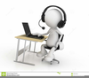 Customer Service Rep Clipart Image