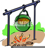 Pot Of Stew Clipart Image