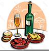 Party Food Clipart Image