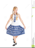 Clipart Girl In School Uniform Image