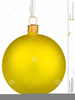 Xmas Bauble Clipart Image
