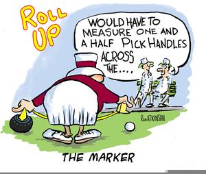 lawn bowls cartoon clipart free images at clker com vector clip