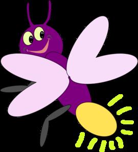 Purple Firefly2 Clip Art at Clker.com - vector clip art ...