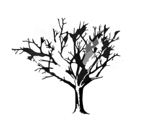 Req Tree Spooky Graphicsfairy C Clip Art