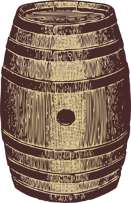 Wine Beer Barrel Clip Art
