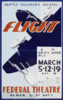 Seattle Children S Theatre [presents]  Flight  A Living Newspaper Play Clip Art
