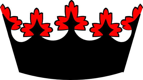 red crown clipart - photo #6