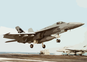 An F/a-18e Of Air Test And Evaluation Squadron Two Three (vx-23) Clip Art