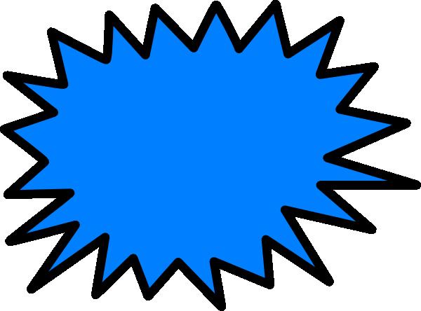 blue sunburst clip art at clker com vector clip art online rh clker com sunburst image clipart blue sunburst clipart