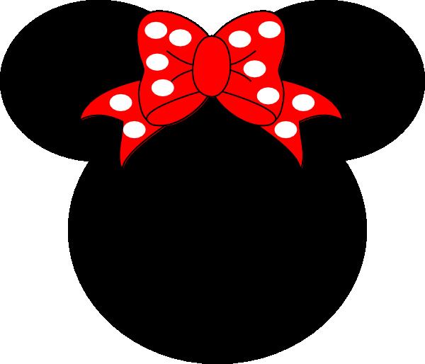 Pink Mouse Bow Clip Art At Clker Com Vector Clip Art