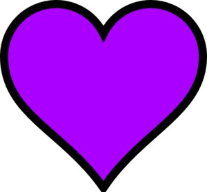 280 Purple Heart Clip Art