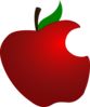 Bit Apple Clip Art