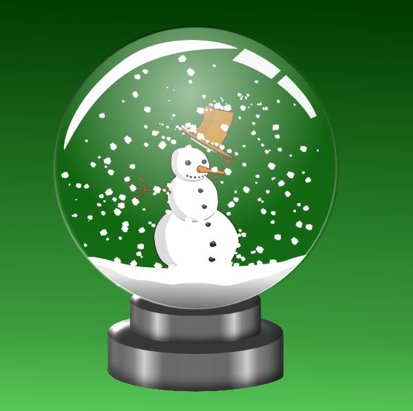 free clipart snow globe - photo #21