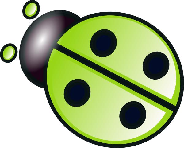 Green Ladybug Clip Art at Clker.com - vector clip art online ...