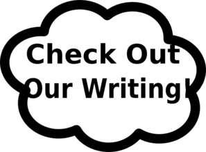 Check Out Writing Clip Art