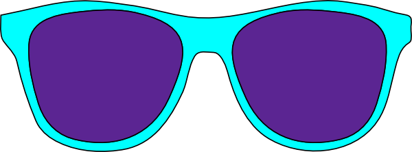 Sunglasses Clip Art at Clker.com - vector clip art online, royalty ...