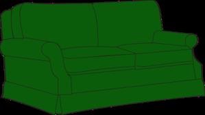 Green Sofa Couch Clip Art At Clker Com Vector Clip Art