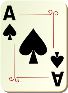 Ace Of Spades Clip Art