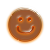 Orange Smiley Face Clip Art