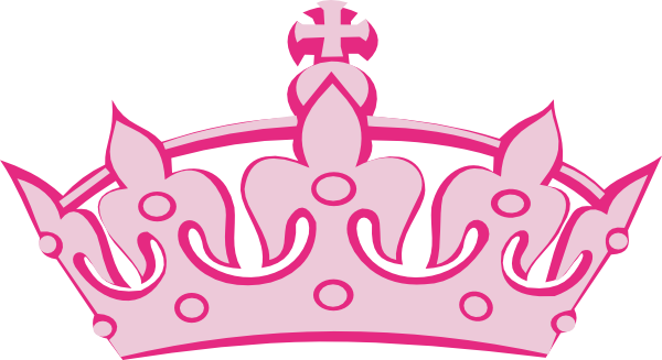 Pink crown clipart - photo#8